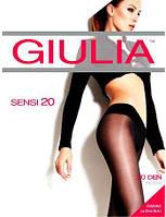 Женские колготки без шортиков с низкой талией GIULIA SENSI VITA BASSA 20 KLG-493