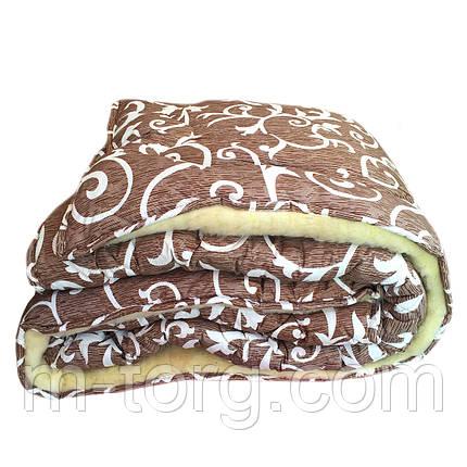Одеяло евро размер 200/220 из овчины, фото 2