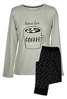 Уютная женская пижама Muzzy Time to coffe  L