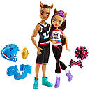 Набор кукол Monster High Клод и Клодин Вульф (Clawdeen Wolf & Clawd) Чемпионы Монстер Хай Школа монстров, фото 3