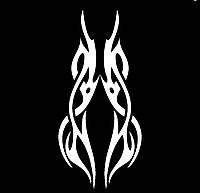 Виниловая наклейка - Узор 31