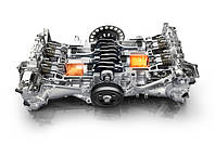 Двигатель охлаждение выхлопная Subaru Forester S11