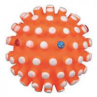 TRIXIE (Трикси) Мяч-мина виниловый с пищалкой 6.5см - игрушка для собак