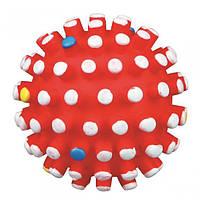 TRIXIE (Трикси) Мяч-мина виниловый с пищалкой 12см - игрушка для собак