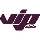 Вінілова наклейка на авто VIP Style (від 7х15 см)