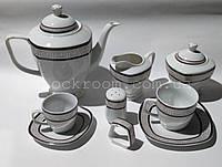 Столовый сервиз Herzog HR-PO57S Venice фарфоровый 57 предметов