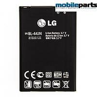 Оригинальная батарея АКБ батарея LG BL-44JN  для LG X135, X145, L60, P970, L3, L5 1540 mAh