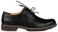 Мужские туфли Caterpillar CAT Black (Катерпиллер) черные