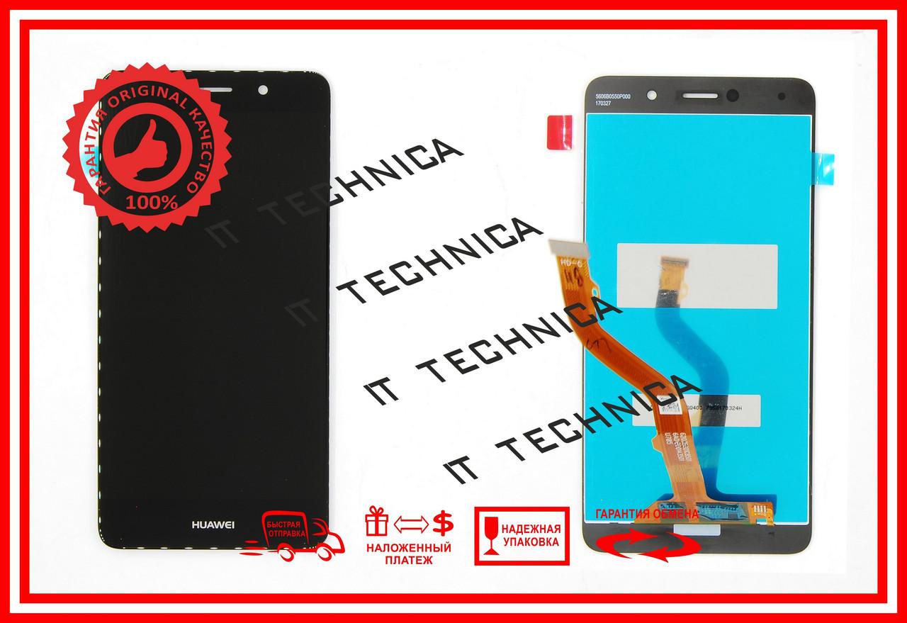 Тачскрин+матрица Huawei Y7 Черный ОРИГИНАЛ