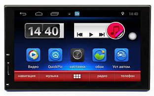 Универсальная 2DIN магнитола Swat Android 6 (AHR-4182)