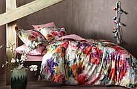 TAC Linsday Сатин Digital евро комплект постельного белья