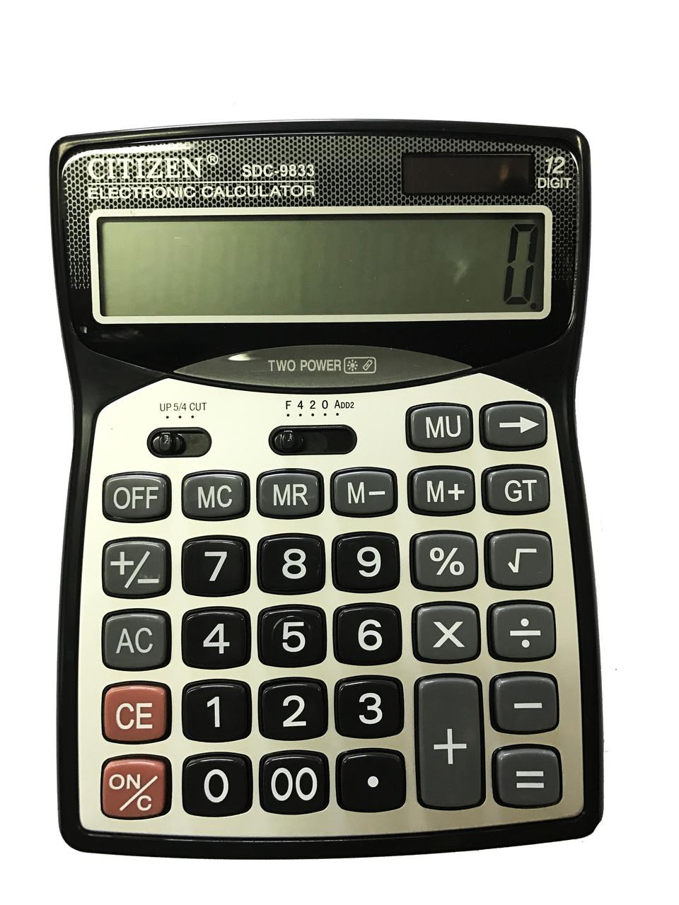 """Калькулятор """"CITIZEN"""" 9833"""