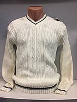 Демисезонный вязанный свитер для мужчины XL