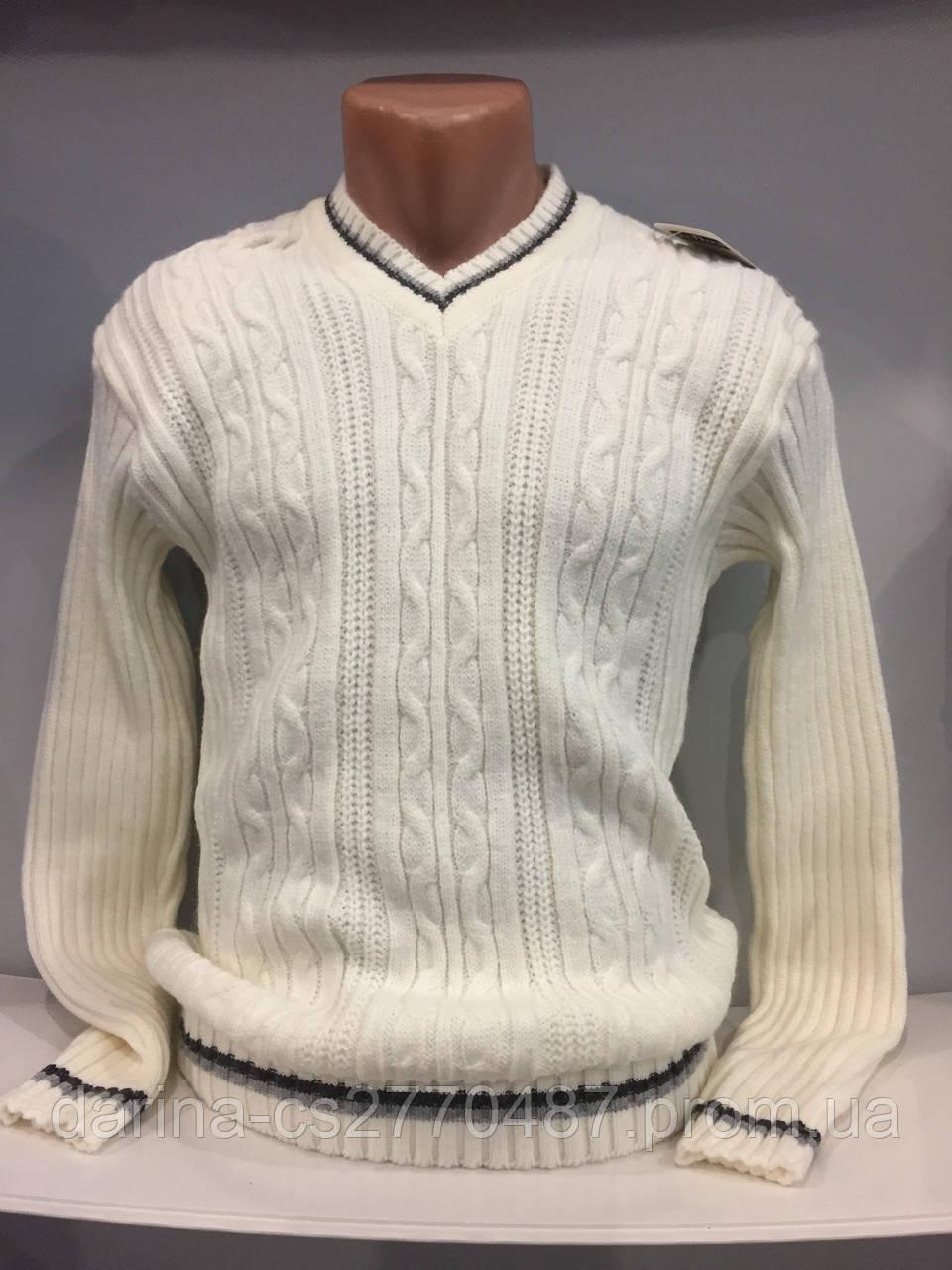 Демисезонный вязанный свитер для мужчины XL, фото 1