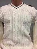 Демисезонный вязанный свитер для мужчины XL, фото 2