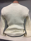 Демисезонный вязанный свитер для мужчины XL, фото 3