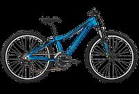 "ВЕЛОСИПЕД BERGAMONT VITOX 24 Boy 2017 24"" (2066) 31СМ blue/black (matt)"