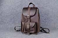 Рюкзак из натуральной кожи  11907  Коричневый
