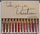 Набор матовых помад Kylie Take me on Vocation MATTE 12 цветов, фото 3