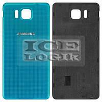 Задняя крышка батареи для мобильного телефона Samsung G850F Galaxy Alpha, синяя
