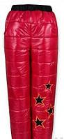 Теплые штаны для девочки Код дод56
