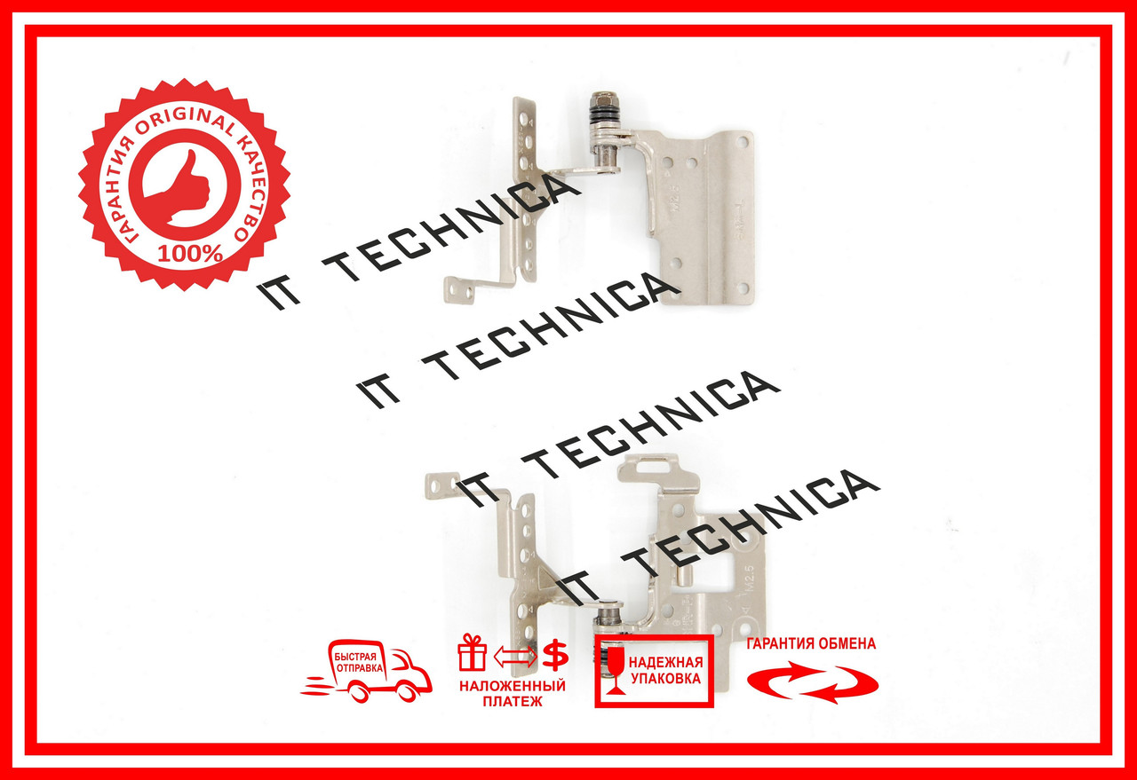Петли ASUS X551 X551C X551CA X551M X551MA D550 F551 P551 R512 F551MA F551CA F200MA R512CA