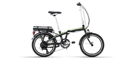 """Велосипед Lombardo 17' 20"""" E-Ischia 20"""" 17""""/44см black/green"""
