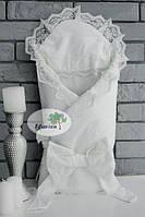 Конверт -одеяло зима Flаvien 1018 молочный