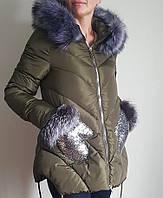 """Зимняя женская куртка """"Snow Passion"""" 5092"""