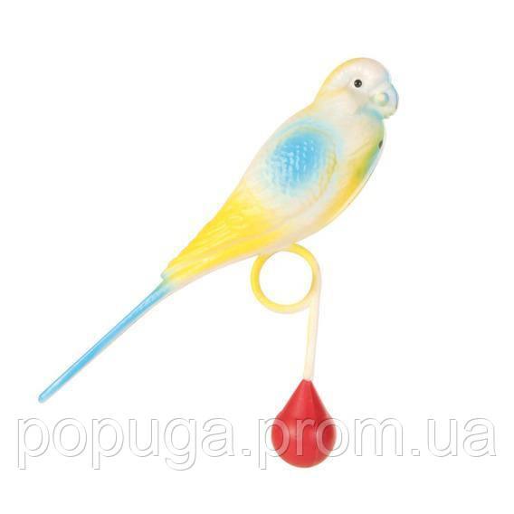 Пластиковый попугай 12.5см