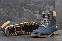 Мужские зимние ботинки Timberland (Тимберленд) код 3281 синие