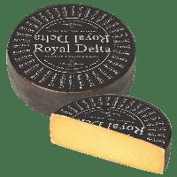 Сыр Royal Delta Black Extra Matured Роял Дельта экстра выдержанный 52+% без лактозы и без глютена