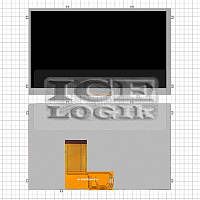 "Дисплей для планшетов China-Tablet PC 7""; Freelander PD10, PD10 3G, PD20; GoClever Tab T76GPS, Tab T"