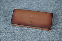 Женский клатч «Баттерфляй»  10365  Италия коричневый