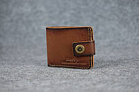Классическое мужское портмоне (с карманом для мелочи) |10463| Италия | Коричневый