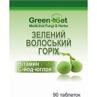 Зеленый грецкий орех - витамин С - йод №90т