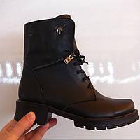 Ботинки женские зимние кожаные код 299