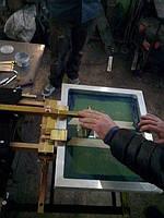 Станок для шелкографии на цилиндрические поверхности, фото 1