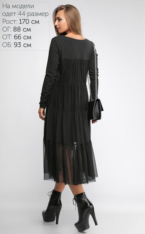 5c014e9d527 Женское модное платье с сеткой свободного кроя с длинным рукавом ...