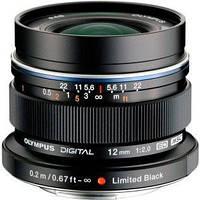 Объектив Olympus EW-M1220 ED 12mm 1:2.0 Черный (V311020BE001)