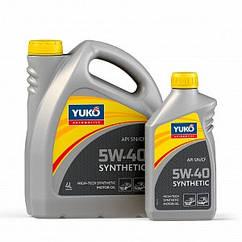 Масло yuko SYNTHETIC 5W-40