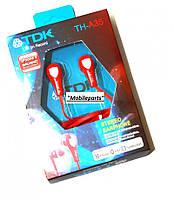 Наушники вакуумные TDK TH-A35 red