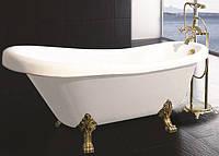 Ванна отдельно стоящая, на бронзовых львиных лапах 1730*800*840 мм, акриловая