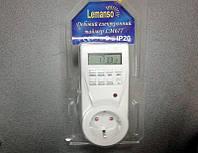 Таймер в розетку недельный электронный Lemanso LM677