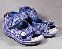 19 20 и 22рр - босоножки мокасины текстильные на мальчика обувь тм Виггами