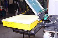 Станок для шелкографии с вакуумным столом для печати на пакетах, бумаге, картоне