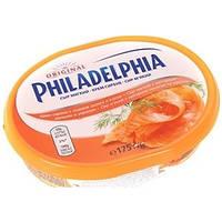 Крем-сыр Филадельфия с лососем и укропом , 175г
