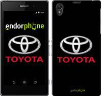"""Чехол на Sony Xperia Z1 C6902 Toyota. Logo """"3138c-38-519"""""""