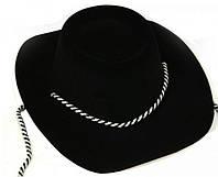 Карнавальная Шляпа Шериф Головной Убор Шерифа Пластик для Вечеринки