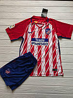 Футбольная форма Atletico Madrid Home/ Атлетико Мадрид домашняя  2017-2018